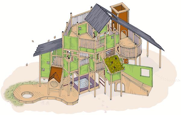「トム・ソーヤーのおうち」に込められた上の原幼稚園の保育理念