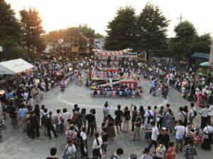 盆踊り花火大会!